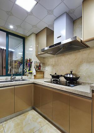 新古典主义欧式风格三室两厅设计装修效果图实例