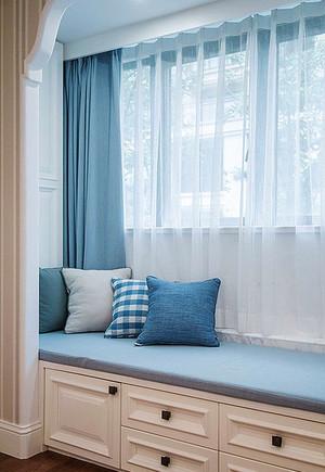 5平米地中海风格飘窗设计装修效果图