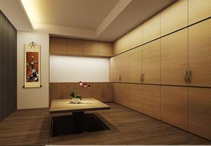 20平米现代日式风格榻榻米设计装修效果图