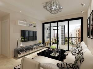 98平米现代简约风格精致室内设计装修效果图