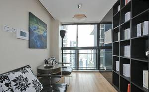 现代风格精致典雅两室两厅设计装修效果图鉴赏