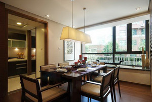 新中式风格精致大户型室内设计装修效果图鉴赏
