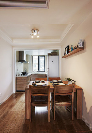 86平米宜家风格精致两室两厅设计装修效果图