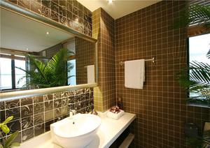 中西风格时尚混搭两室一厅装修效果图实例