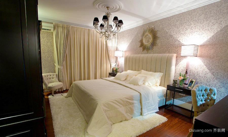 2016精致的二居室简欧风格卧室装修效果图