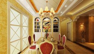 大户型欧式奢华风格公寓装修效果图鉴赏