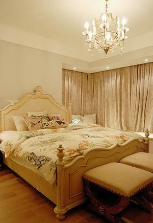 欧式风格一居室卧室装修效果图赏析