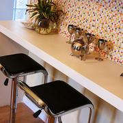 简欧风格客厅时尚吧台设计效果图
