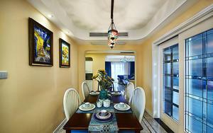 96平米地中海风格精致公寓装修效果图赏析