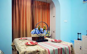 地中海风格60平米跃层小公寓装修效果图赏析