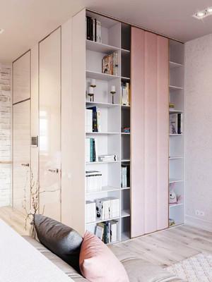都市清新风格70平米女生公寓装修效果图赏析