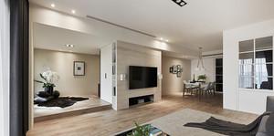 81平米现代工业风格两室两厅装修效果图赏析