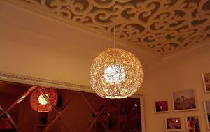 东南亚风格小户型特色客厅吊顶装修效果图