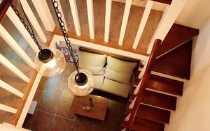 现代简约风格56平米跃层小公寓装修效果图赏析