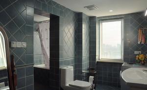 复古美式风格87平米两室两厅设计效果图鉴赏