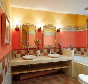 98平米美式乡村风格三室一厅装修效果图鉴赏