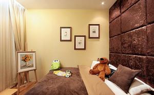 后现代风格精致三室两厅设计效果图赏析