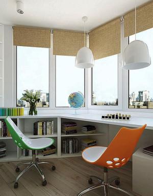 92平米北欧风格简约三室一厅设计效果图赏析