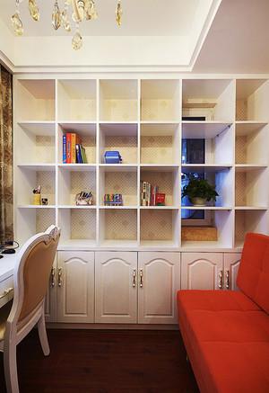 6平米简欧风格书房书架设计效果图