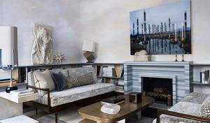 新古典主义简约欧式风格三居室设计装修效果图