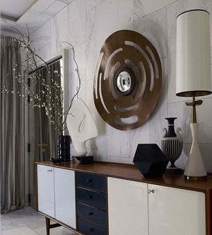 5平米现代风格玄关橱柜设计装修效果图
