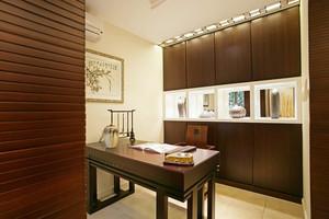 108平米古典中式风格室内整体设计装修效果图实例