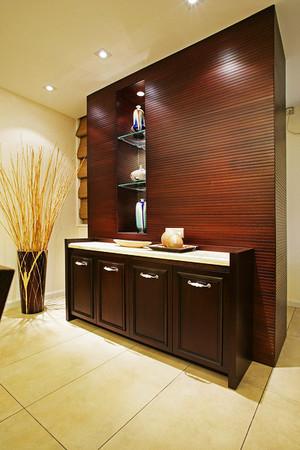 10平米中式风格玄关鞋柜设计效果图赏析