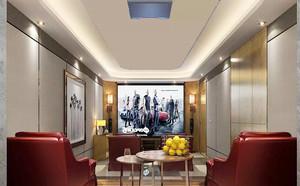 现代中式风格豪华别墅室内整体设计装修效果图