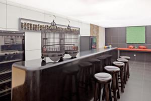 20平米现代中式风格大户型餐厅吧台设计装修效果图鉴赏