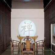 仿古中式风格8平米独立式餐厅设计装修效果图