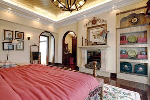156平米欧式风格四室两厅两卫装修效果图鉴赏