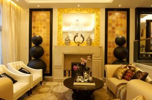 260平米欧式风格别墅设计整体设计效果图赏析