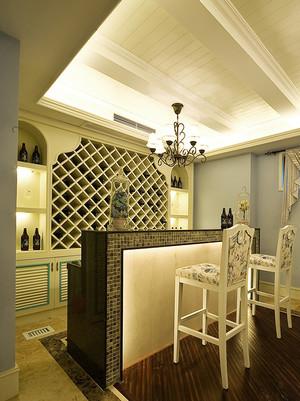 欧式风格别墅吧台酒柜设计装修效果图鉴赏
