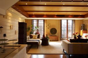 经典东南亚风格大户型室内整体设计装修效果图实例
