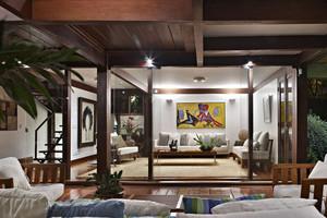 东南亚风格167平米复式楼装修效果图赏析