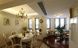 欧式风格复式楼室内整体设计装修效果图鉴赏