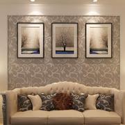 15平米简欧风格客厅装饰画装修效果图赏析