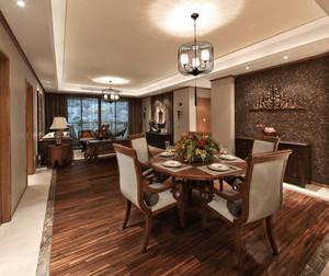 东南亚风格独特泰式三居室装修效果图实例