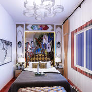 现代简约风格阳台改卧室装修效果图赏析