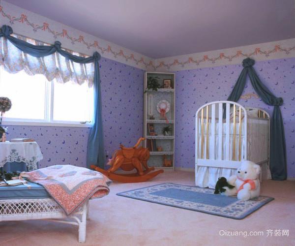 大户型简欧风格婴儿卧室装修效果图赏析