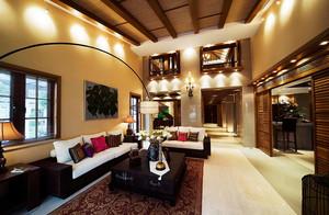 古朴自然东南亚风格两室两厅装修效果图赏析