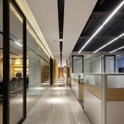 120平米现代风格办公室装修效果图赏析