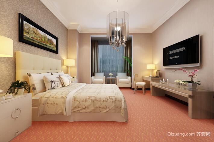 32平米现代简约风格宾馆装修效果图鉴赏