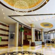 180平米现代简约风格写字楼大厅装修效果图