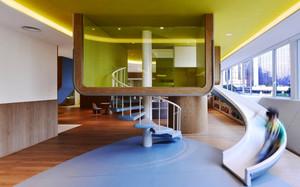 178平米现代风格幼儿园装修效果图鉴赏
