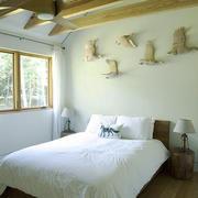 北欧风格复式楼卧室装修效果图赏析