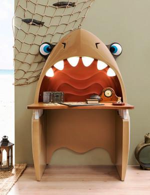 15平米现代风格创意儿童房书桌效果图鉴赏
