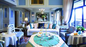 456平米地中海风格别墅室内装修效果图