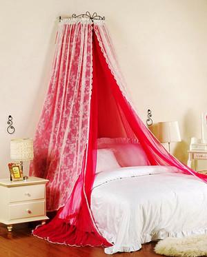 法式田园风格两居室浪漫卧室效果图赏析