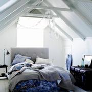 110平米北欧风格阁楼卧室装修效果图鉴赏